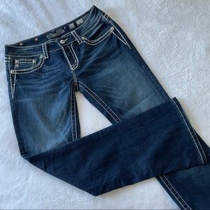 Miss Me jeans boot cut Sz 30 (ш14)